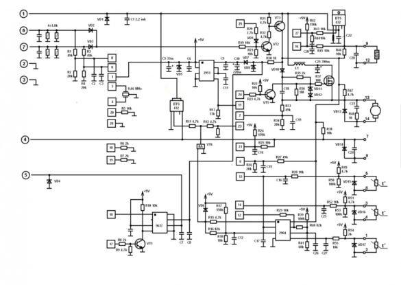 Ремонт блока управления Eberspacher Hydronic (Гидроник) D/B/3/5/ WZ/S/C