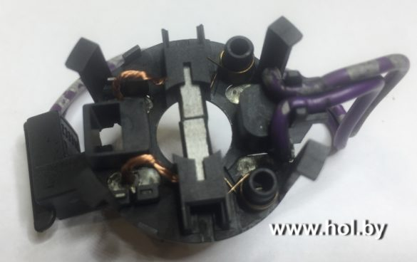 Щеткодержатель вентилятора воздуха Eberspacher Hydronic D3/4/5 WZ/S/SC, Webasto AT2000, Webasto Termo Top C/Z/E, Халдекс